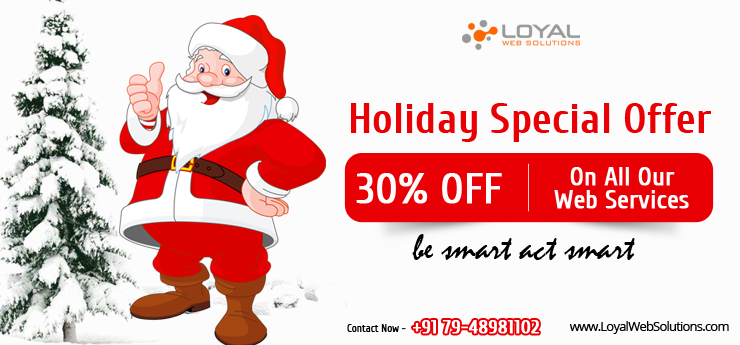 Holidays Special Discount